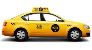 Автомобиль такси 2412